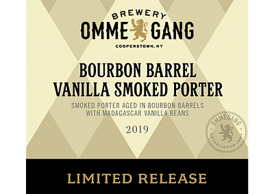 Bourbon Barrel Vanilla Smoked Porter