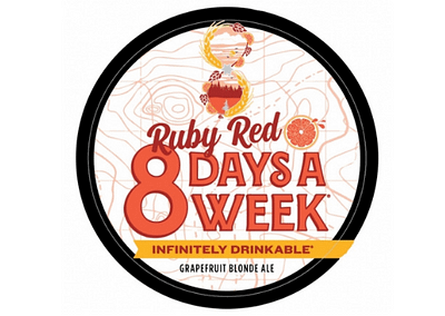 Ruby Red 8 Days a Week