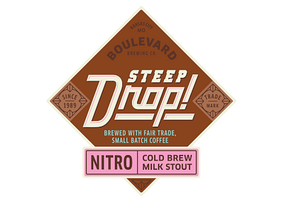 Steep Drop Nitro Stout