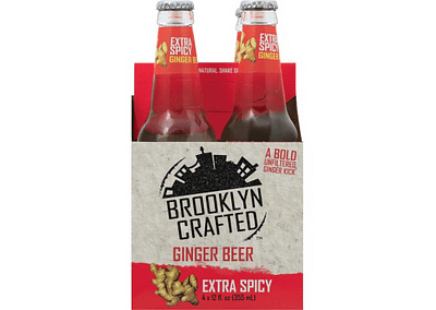 Extra Spicy Ginger Beer 4pk
