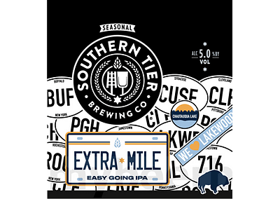 Extra Mile Easy Going IPA