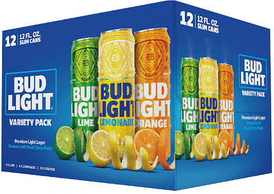 Bud Light Peels 12pk Variety