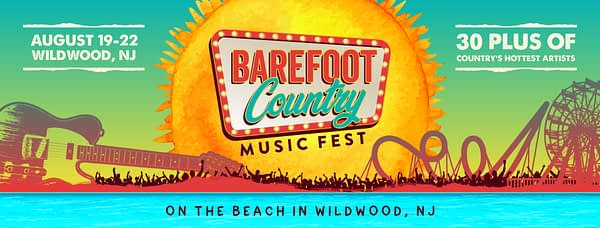 BAREFOOT Country Music Fest @ Wildwood Boardwalk | Wildwood | New Jersey | United States