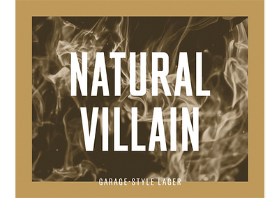 Natural Villain Lager